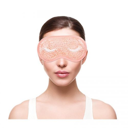 BLISS GEL BEAD REUSABLE COLD COMPRESS EYE MASKS