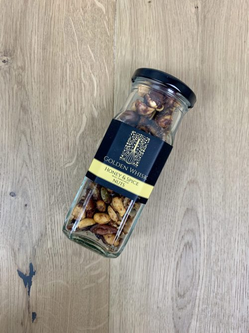 Golden Whisk Spiced Nuts