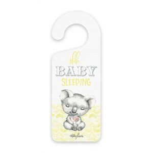 Kelly Lane Baby Hanger Plaque