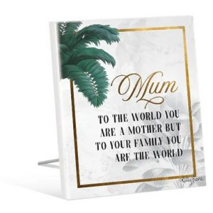 Kelly Lane Mum Plaque Sentiment